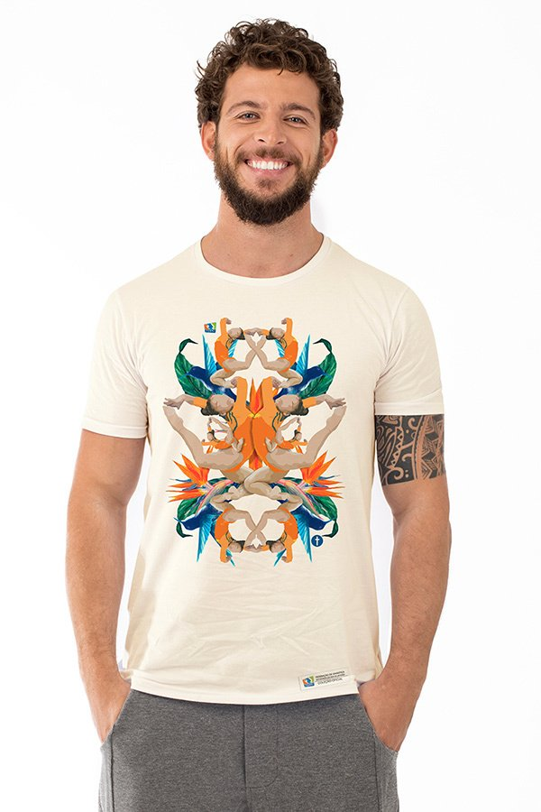T-shirt FGERJ Fashion Masculina