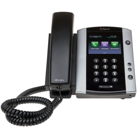 VVX500 para Microsoft Skype for Business/Lync PoE (Part: #2200-44500-019)