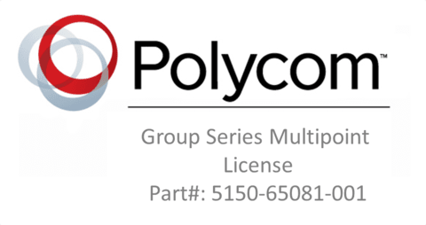 Group Series Multipoint License (Part: #5150-65081-001)
