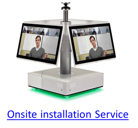 Onsite installation Service, RealPresence Centro (Part: #4870-23270-002)