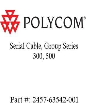 Serial Cable for the Group Series 300 and 500 (Part: #2457-63542-001)