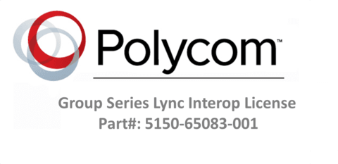 GROUP Series License for Microsoft Lync (Part #5150-65083-001)