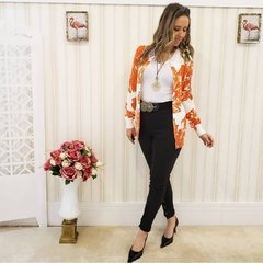 Cardigan Longo Orange - comprar online
