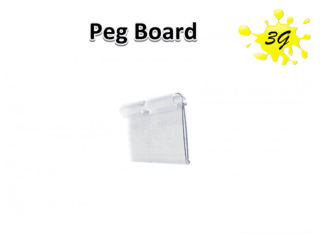 Peg Board 3G Largura 50mm