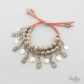 Pulsera Anana - Color Coral