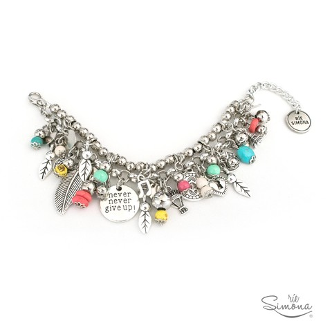Pulsera Never Give Up - comprar online