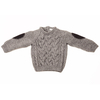 SWEATER GRIS CON PITUCON