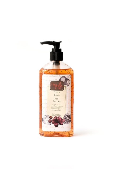 Moisturizing Hand & Body Wash Frutos Rojos
