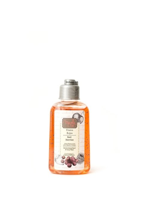 Moisturizing Hand & Body Wash 90 ml Frutos Rojos
