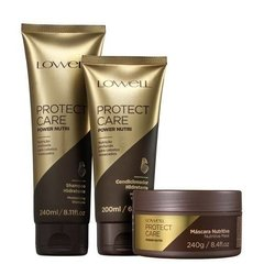 Kit Lowell Protect Care Power Nutri Trio (3 Produtos)