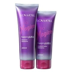 Kit Lowell Liso Mágico Shampoo 240ml + Condicionador 200ml