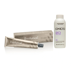 Kit Ox + Alfaparf Evolution - 6ni Louro Escuro Intenso