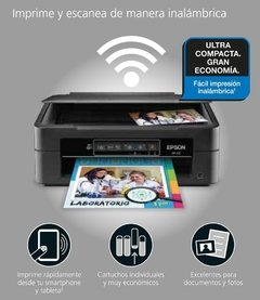 IMPRESORA EPSON XP231  MULTIFUNCION WI--FI  PROMO B&N ///COLOR