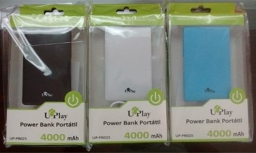 POWER BANK   PORTATIL    4000 POTENCIA