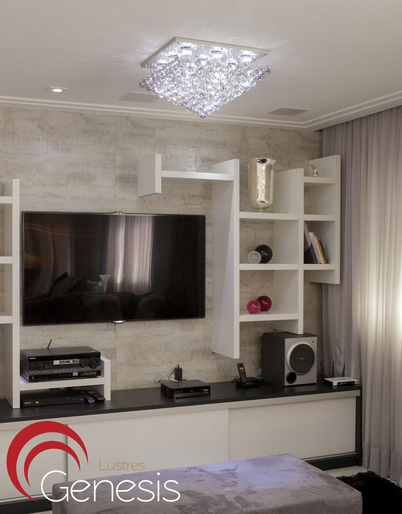 Pruzak Com Lustre Para Sala De Estar Quadrado Id Ias  -> Lustre Para Sala De Tv