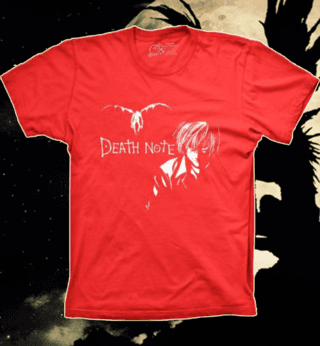 Camiseta Death Note Kira - M