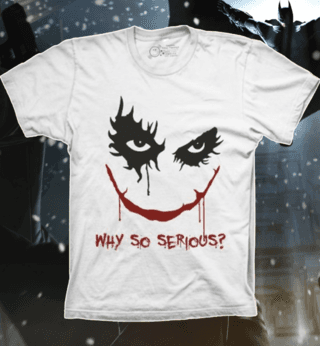 Camiseta Why so Serious?