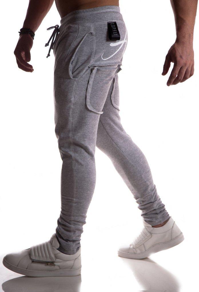 0a7a81eead871 Calça Moletom Top Fit Advance Cinza Escura - topfit