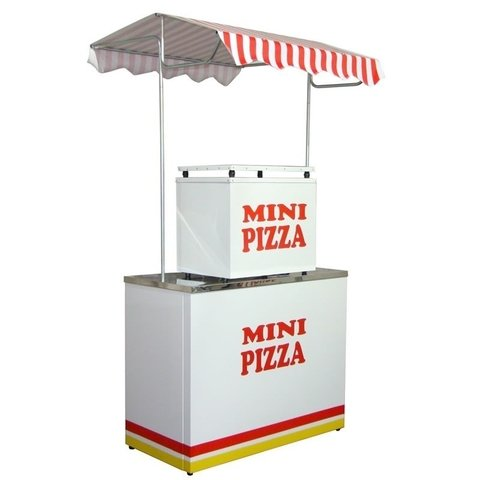 Barraca Buffet Mini Pizza c/ Forno