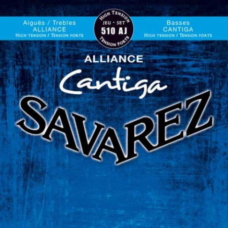 Encordado guitarra clásica SAVAREZ 510 AJ ALTA ALLIANCE-CANTIGA