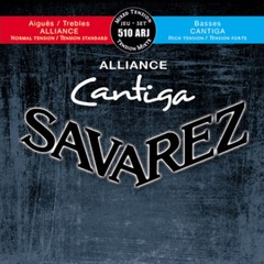 Encordado guitarra clásica SAVAREZ 510 ARJ NORMAL-ALTA ALLIANCE-CANTIGA