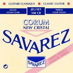 Encordado guitarra clásica SAVAREZ 500 CR NORMAL NEW CRISTAL-CORUM