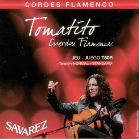 Encordado guitarra flamenca SAVAREZ T50 R TOMATITO TENSION NORMAL