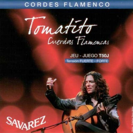Encordado guitarra flamenca SAVAREZ T50 J TOMATITO TENSION ALTA