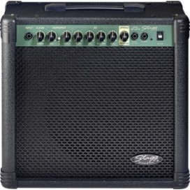 40 GA R EU Stagg Amplificador 40 WATTS - Distorsion - Reverb