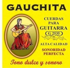 Gauchita Encordados Guitarra Clasica X 20