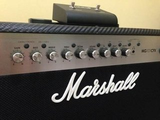 Amplificador Marshall Mg 101cfx De 100 Watts