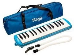 Flauta Melodica as Varios ColoresStagg 32 Not