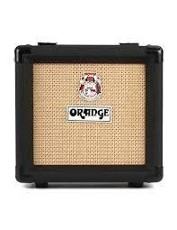 "Orange PPC108BK Micro Terror/Dark cabinet, 1x8"" speaker, Closed-back, Mono,Black"