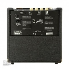 Amp. p/Bajo Rumble FENDER 15 (V3) 15W, CD en internet