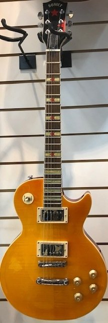 Guitarra electrica Les Paul SOVIET !!!