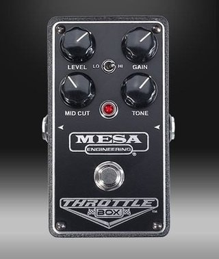 Mesa Boogie Pedal De Efectos Throttle Box - Distortion