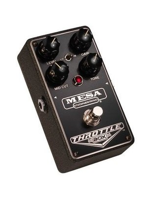 Mesa Boogie Pedal De Efectos Throttle Box - Distortion - comprar online