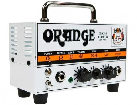 Orange Micro Terror (MT20)  20 Watt Mini Hybrid Guitar Head (1 x Ecc83/12ax7)