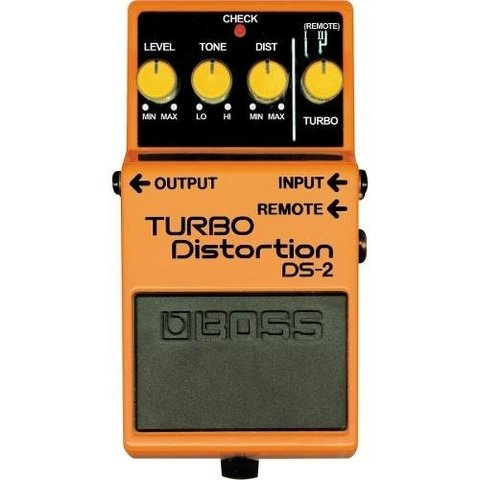 Pedal De Efecto Boss -ds2- Turbo Distortion