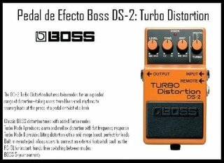 Pedal De Efecto Boss -ds2- Turbo Distortion - comprar online