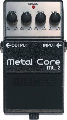 Pedal De Efectos Boss -ml2- Metal Core