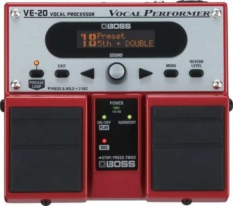 Pedal De Efectos Boss - Ve20- Vocal Performer