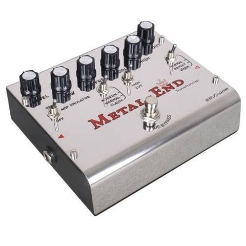 Pedal Para Guitarra Biyang Metal-end