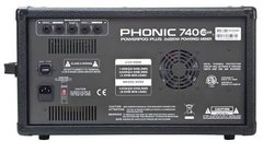 Phonic Mixer Potenciado Power 740 Dx Plus