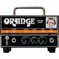 Orange Micro Dark (MD)  20 Watt Mini Hybrid Guitar Head (1 x Ecc83) LOOP