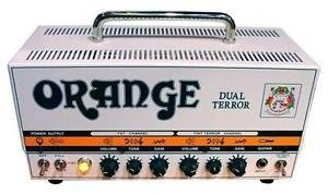 Orange Dual Terror Head (DT-30-H)  30/15 w valvular (4 x EL84 pot. - pre 4 x Ecc83/12ax7)