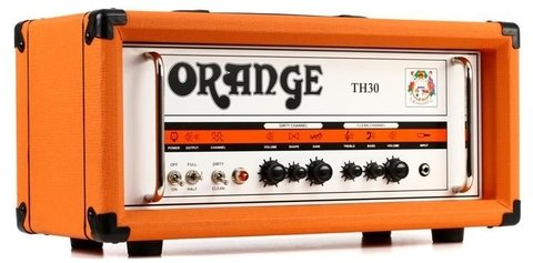 Orange TH30H Twin channel valve head with FX loop, 30/15/7 Watts Class A