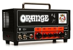 Orange Jim Root Terror  Jim Root signature single channel valve head with FX loop, 15/7 Watts Class A