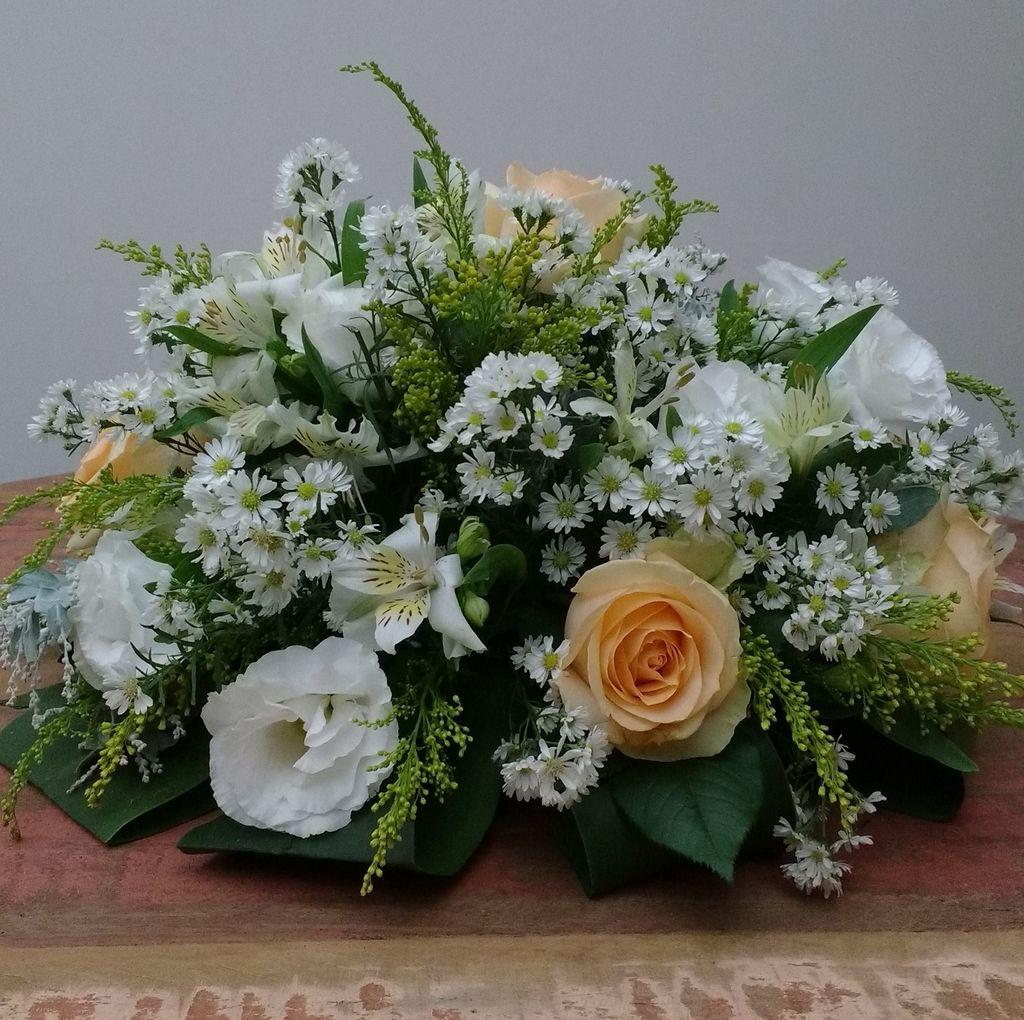 Kit flor arg002h18xd40 arranjo para centro de mesa de mix - Centros de mesa de flores ...