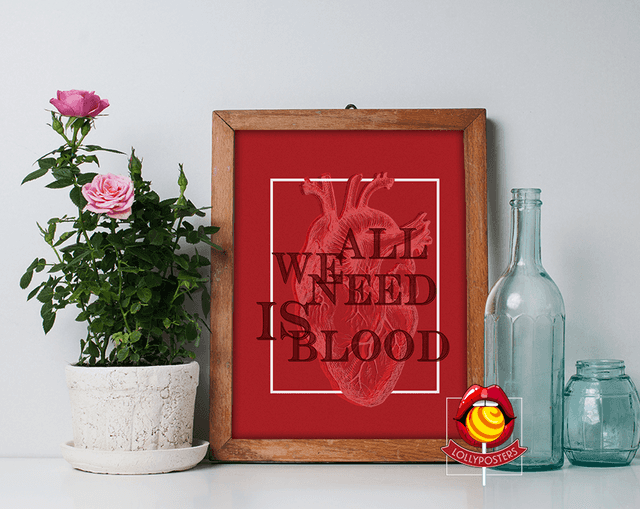 All We Need is Blood - comprar online